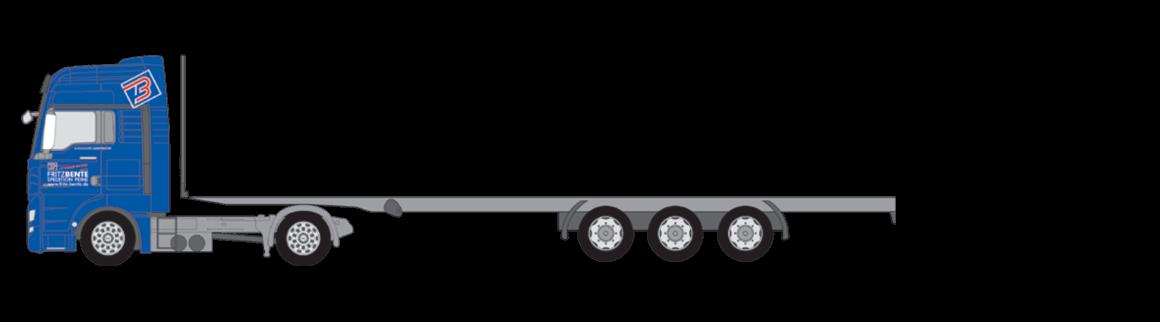 Megatrailer offen